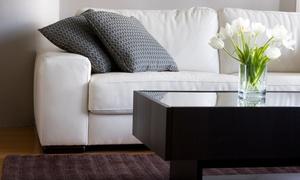 Lscleangroup: Servicio a domicilio de limpieza de tapicería de un sofá y opción a chaise longue desde 34,90 € en Lscleangroup