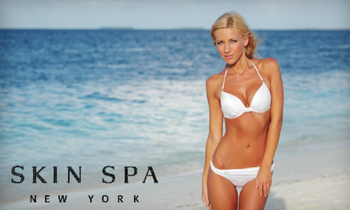 Skin Spa - Multiple Locations: Three or Six Laser Hair-Removal Treatments. 7 Locations. (Up to 80% Off)