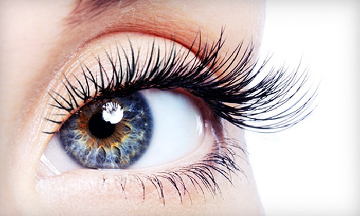 Paradise Total Spa & Nails - Randolph: Full Set of Eyelash Extensions with Optional Touch-Up at Paradise Total Spa & Nails (Up to 53% Off)