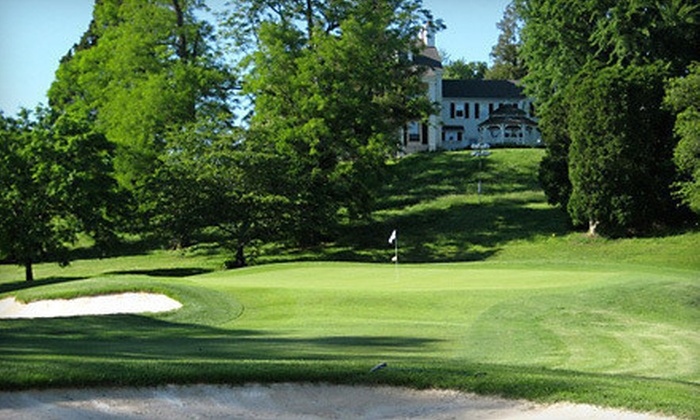 Glenn Dale Golf Club - Glenn Dale: 18-Hole Golf Package for One or Two with Cart Rental, Range Balls, and Beverages at Glenn Dale Golf Club (Up to 52% Off)