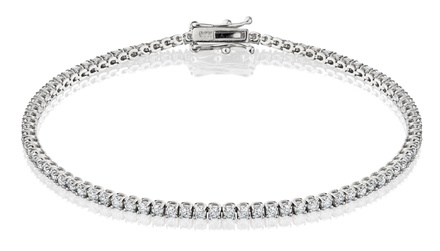 2.00 CTTW Diamond Tennis Bracelet in 14-Karat Gold