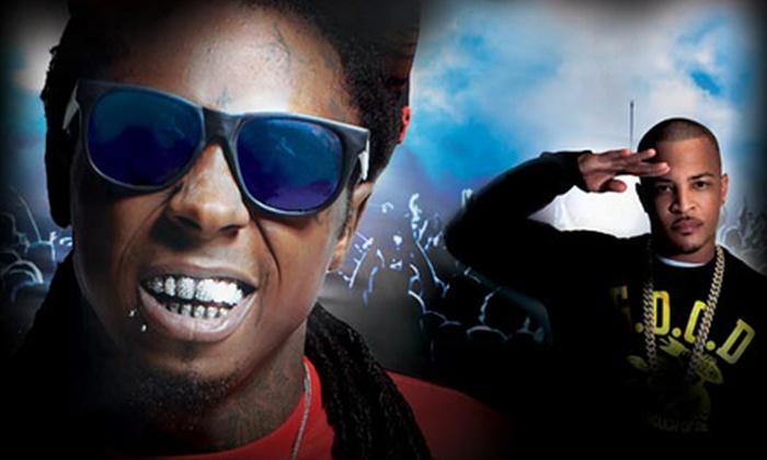 America's Most Wanted Festival 2013 starring Lil' Wayne - Farm Bureau Live at Virginia Beach: America's Most Wanted Festival 2013 with Lil' Wayne at Farm Bureau Live at Virginia Beach on July 28 (Up to 64% Off)