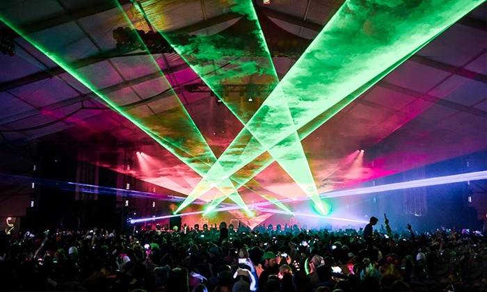 Lights All Night VIP - Downtown Dallas: Lights All Night Featuring Deadmau5 and Kaskade at Dallas Convention Center on Dec 27–28 (Up to $72.11 Off). 21+.
