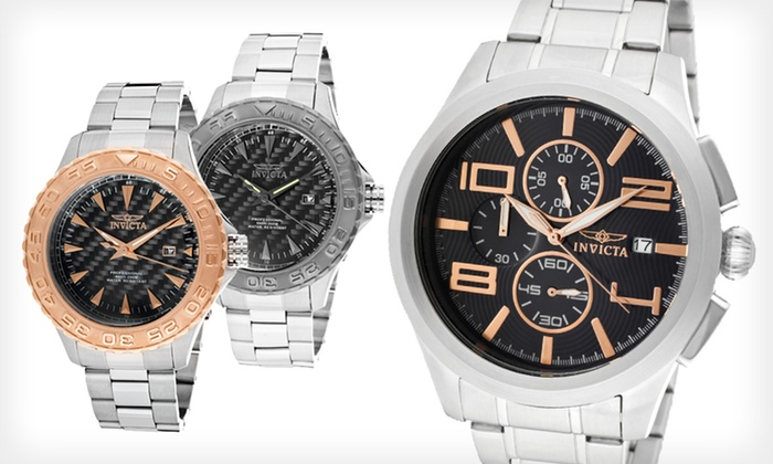 Invicta Men's Watch: $79 for an Invicta Men's Pro-Diver or Specialty Watch ($895 List Price). Seven Options Available. Free Shipping.