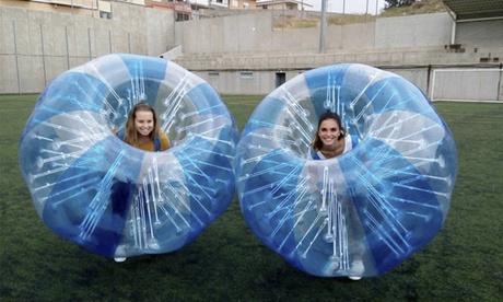 Partido de fútbol en burbuja para 10, 12 o 14 personas desde 59,90 €