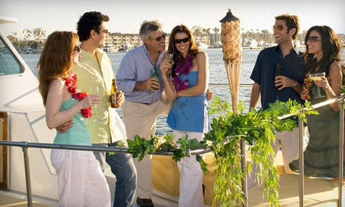 Tiki Mermaid Charters - Marina del Rey: $29 for a Two-Hour Friday Evening or Night Booze Cruise from Tiki Mermaid Charters ($58 Value)