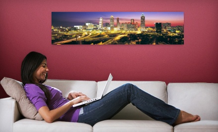 "$35 for a 48""x12"" Panoramic Wall Mural from Larger Than Life Prints ($84 Value)"