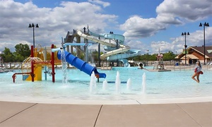 Joliet Park District: One Adult or Two Children's Visits to Splash Station Waterpark in Joliet (46% Off)