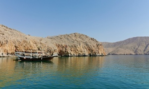 Al Mariah Travel and Tourism:  Musandam Dibba Cruise for Child or Adult with Optional Transfers with Al Mariah Travel and Tourism