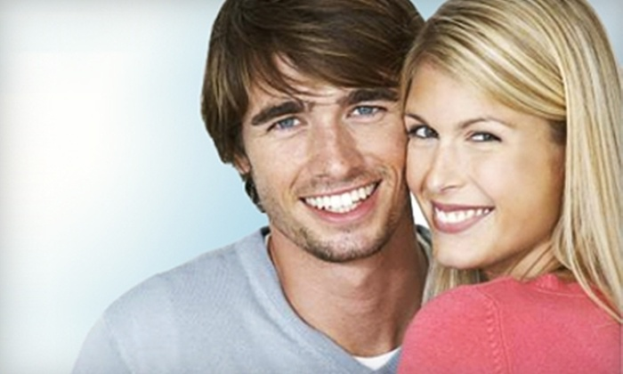 Smile Bright Teeth Whitening - Multiple Locations: One At-Home Teeth-Whitening Kit or One or Two In-Office Treatments from Smile Bright Teeth Whitening (Up to 84% Off)
