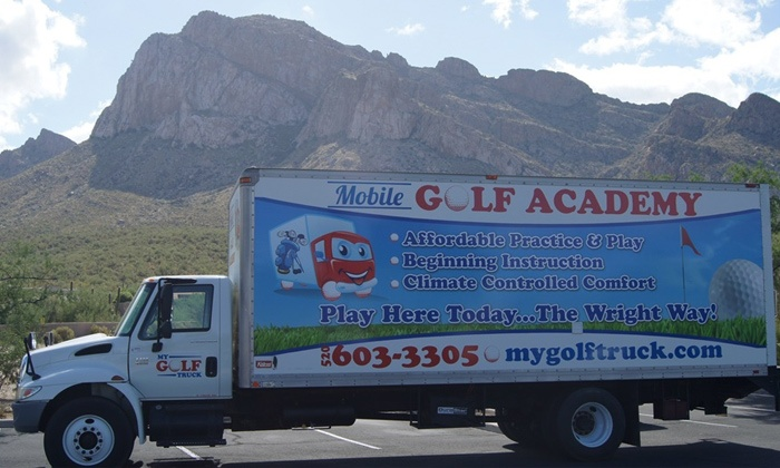 My Golf Truck - Oro Valley: $60 for $120 Towards 3 Golf Lessons at My Golf Truck Mobile Golf Academy
