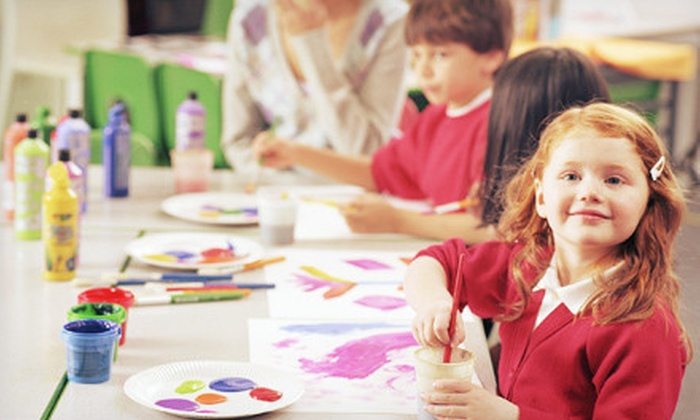 Let's Art - Highland: Four-Week Children's Art Class for One or Two at Let's Art (Up to 60% Off)