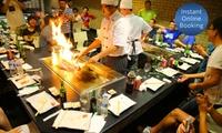 Five-Course Teppanyaki with Sake for Two ($75) or Four People ($149) at Akita Teppanyaki, Sylvania (Up to $355 Value)