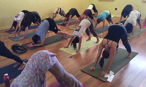 Electric Soul Yoga: 5 or 10 Yoga Classes at Electric Soul Yoga (Up to 86% Off)