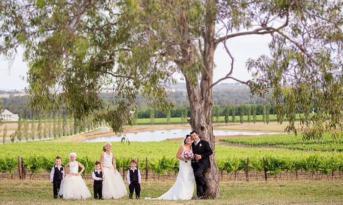 Tuscany estate hunter valley wedding