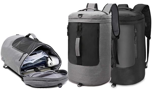 Herren-Reise-Rucksack in Schwarz oder Grau