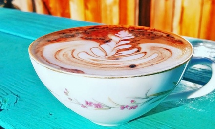 $12 for Four Groupons, Each Good for $5 Worth of Coffee at Agape Coffeehouse ($20 Total Value)