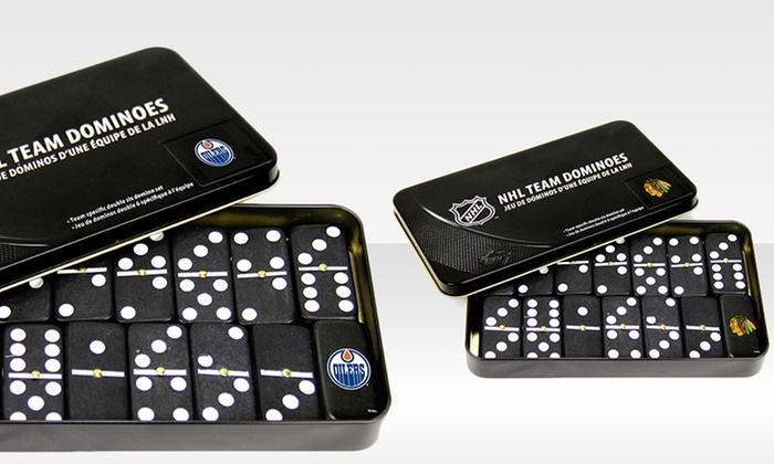 NHL Domino Set: NHL Domino Set. Multiple Designs Available. Free Returns.