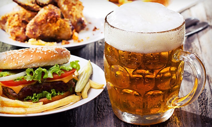The Mighty Pint - Dupont Circle: Lunch or Happy Hour at The Mighty Pint (Half Off). Two Options Available.