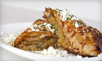 GROUPON: Up to 59% Off Greek Dinners at Taverna Mazi Taverna Mazi
