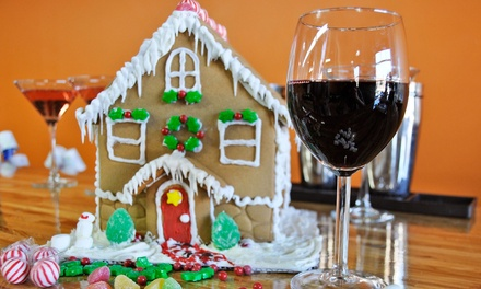 Adult Admission to a Gingerbread House-Making Party at Paint Nite (Up to 30% Off)