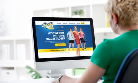 Three- or Six-Month Membership to The Biggest Loser Club Online Weight-Loss Plan (54% Off)