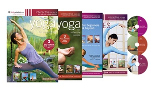 Body Wisdom Yoga and Pilates 3-DVD Sets