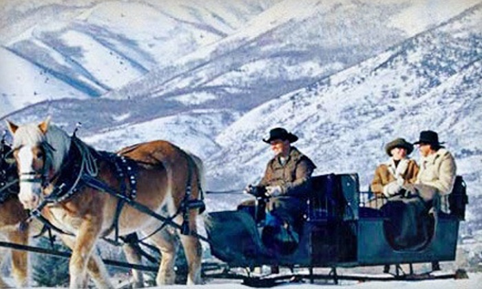 Rocky Mountain Outfitters - Midway: Group Sleigh Ride for Two or Four at Rocky Mountain Outfitters (Up to 50% Off)