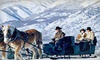 Provo Canyon Adventures - Midway: Group Sleigh Ride for Two or Four at Rocky Mountain Outfitters (Up to 50% Off)