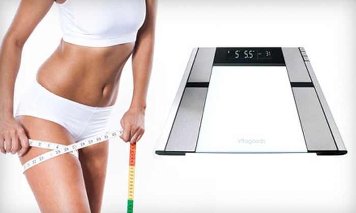 Vitagoods Digital Body Analyzer: $34 for a Vitagoods Digital Body-Analyzer Scale ($125 List Price)