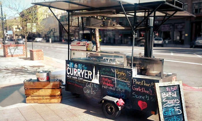 The Curryer - Rio Grande: Indian Food-Cart Meal for Two or Four at The Curryer (Up to 53% Off)