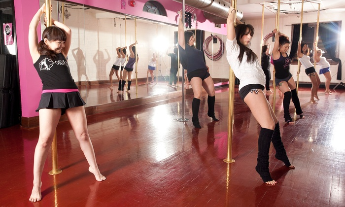 Brass Vixens - Multiple Locations: 5 or 10 Pole Dancing and Fitness Classes (Up to 71% Off)