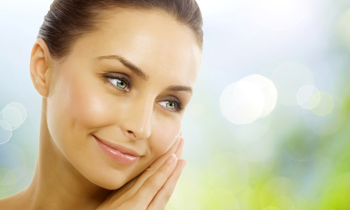 Face-Lifts and Oxygen Facials at Integrative Healthcare Options (Up to 55% Off). Five Options Available.