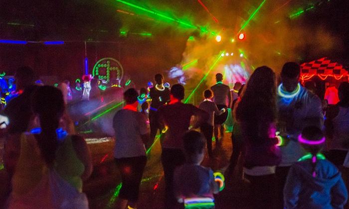 Cosmic Glow Run Charleston - North Charleston: $25 for Cosmic Glow Run Charleston 5K on June 13 ($50 Value)