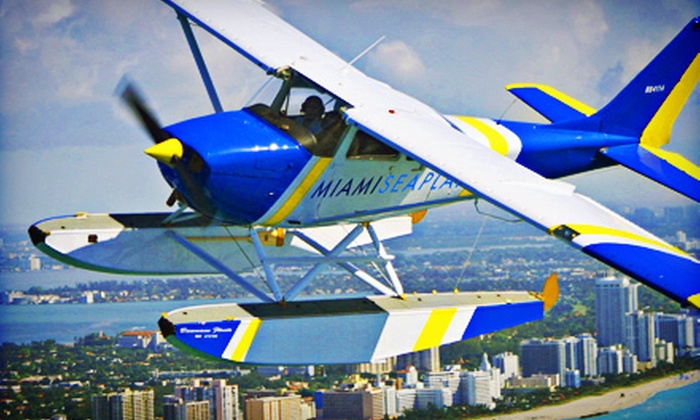 Miami Seaplane Tours - Virginia Key: $160 Towards Seaplane Tours