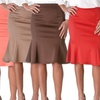Riverberry Women's Flared Pencil Skirt
