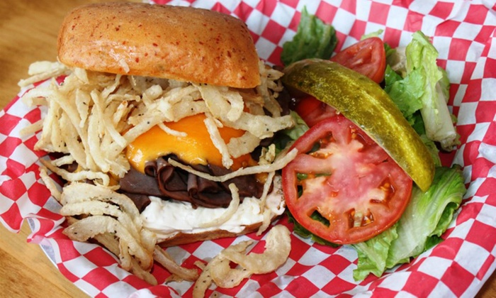 Malibu Shack Grill & Beach Bar - Thunderbird Hills: Burgers, Wings, Sandwiches, Seafood, and More or a Meal for Two at Malibu Shack Grill & Beach Bar