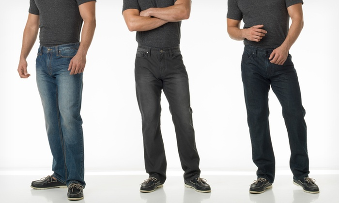 Indigo Star Men's 5-Pocket Jeans: $32.99 for Indigo Star Men's 5-Pocket Jeans ($69 List Price). Multiple Washes Available. Free Shipping and Returns.