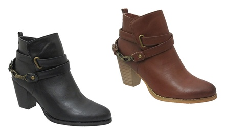 AXNY Abria Ankle Booties