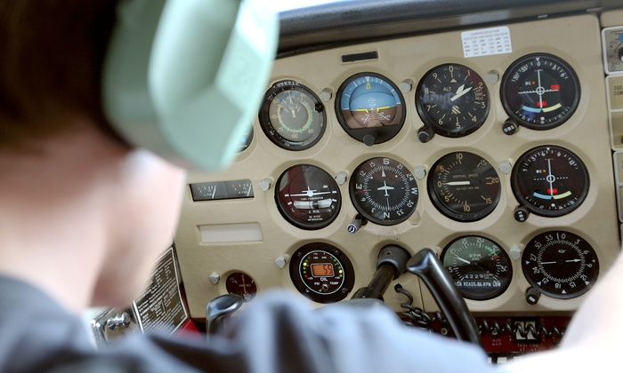 A&R Aviation - Troy: $139 for Discovery Flight Package with Photo, T-shirt, Syllabus, and Pilot Log at A&R Aviation ($284 Value)