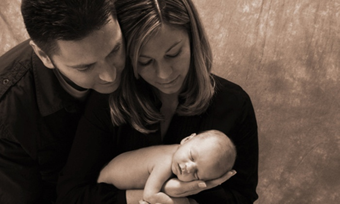 Sears Portrait Studio - Victoria: $42 for a Family Portrait Package at Sears Portrait Studio ($229.78 Value)