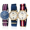Sophie and Freda Nantucket Nylon-Strap Ladies' Watch