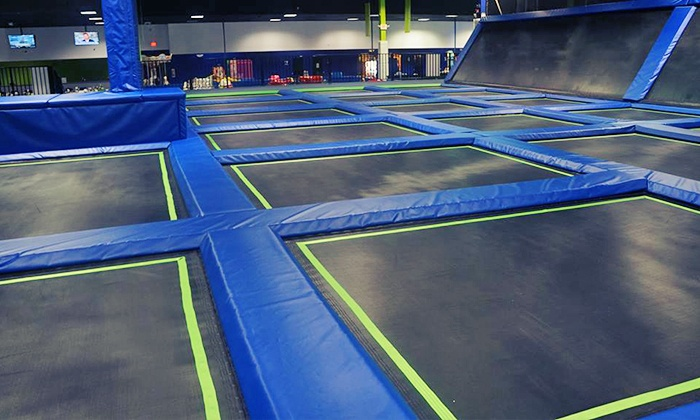 Off The Wall Trampoline Fun Center - Coconut Creek: Trampoline and Laser Tag Party Package at Off The Wall Trampoline Center (Up to 34% Off)