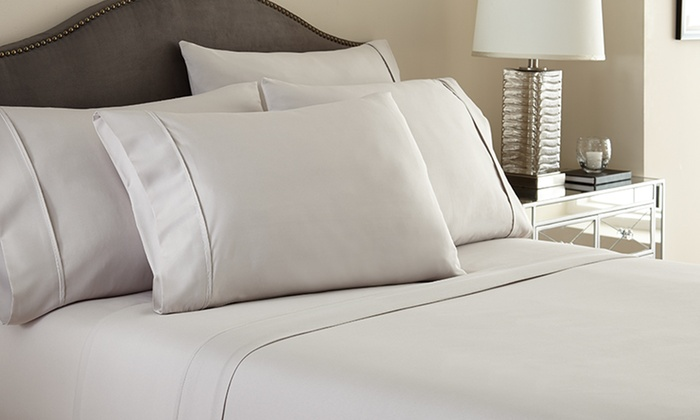 Hotel New York 6-Piece Microfiber-Sheet Sets: Hotel New York 6-Piece Sheet Sets. Multiple Options Available from $19.99–$32.99. Free Shipping and Returns.