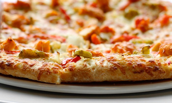 Slice Pizzeria - Slice Pizzeria: Pizza and Italian Cuisine for Two or Four at Slice Pizzeria (Half Off)