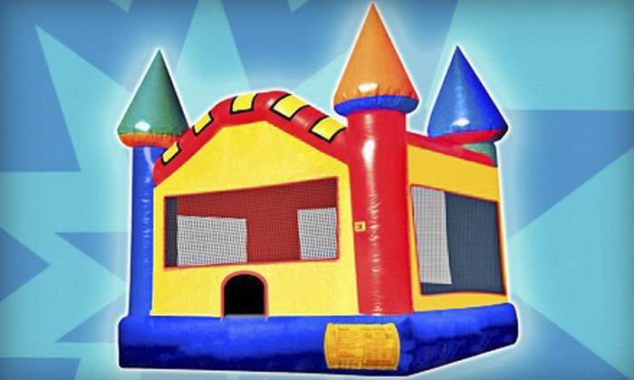 Supreme Bouncers - Columbia: Four-Hour Rental of Bounce House, Bounce House with Slide, or Obstacle Course from Supreme Bouncers (Up to 60% Off)