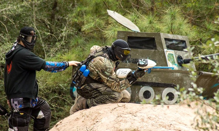 TxR Paintball - TXR Paintball: Paintball General Admission, Gear, and 100 Paintballs Each for Two or Four at TxR Paintball (Up to 77% Off)