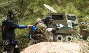 TxR Paintball: Paintball General Admission, Gear, and 100 Paintballs Each for Two or Four at TxR Paintball (Up to 77% Off)