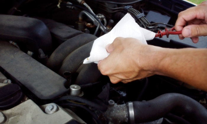 QuickLube Plus - Parkhill/Stanlet Park: $22 for One Full-Service Oil Change with Multipoint Inspection at QuickLube Plus (Up to $54.95 Value)