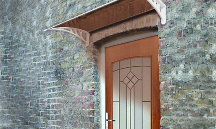 Groupon Goods Global GmbH: Honeyman Door Canopy for £59.99 With Free Delivery (40% Off)